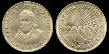 World Coins - 1954 Nicaragua 50 Centavos BU