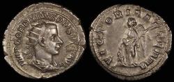Ancient Coins - Gordian III Antoninianus - VICTORIA AETERNA - Rome Mint