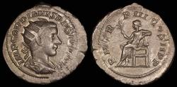 Ancient Coins - Gordian III Antoninianus - PM TRP III COS II P P - Rome Mint
