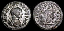 Ancient Coins - Aurelian Denarius - VICTORIA AVG - Rome Mint