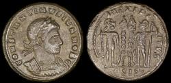 Ancient Coins - Constantine II Ae3 - GLORIA EXERCITVS - Siscia Mint