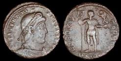 Ancient Coins - Valentinian I Ae3 - RESTITVTOR REIP - Cyzicus Mint