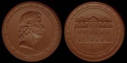 World Coins - 1947-1973 - German Democratic Republic : Friedrich Von Schiller Commemorative Medal