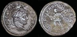Ancient Coins - Caracalla Denarius - MARTI PROPVGNATORI - Rome Mint