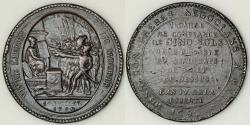 World Coins - 1792 France - French Revolution Five Sols Medal by Monneron Brothers at Soho Mint in Birmingham (West Midlands)