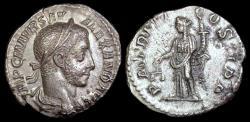 Ancient Coins - Severus Alexander Denarius - PM TRP VI COS II PP - Rome Mint
