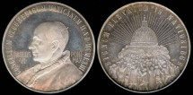 World Coins - 1963 Vatican – Pope Paul VI – 2nd Vatican Ecumenical Council