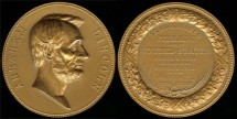 1865 Abraham Lincoln - US Mint Medal