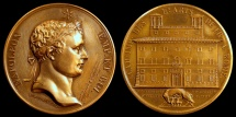 World Coins - 1803 France - Napoleon - Establishment of the French Academy of the Fine Arts at Rome by Nicolas-Pierre Tiolier