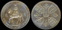 World Coins - 1953 Great Britain Crown Proof
