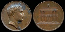 World Coins - 1805 France - Napoleon - The Peace of Presbourg by Jean-Bertrand Andrieu and Dominique-Vivant Denon