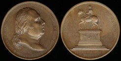 World Coins - 1817 France - Restoration of Henri IV Equestrian Statue