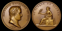 World Coins - 1809 France - Napoleon - The Bank of France by Jean-Pierre Droz