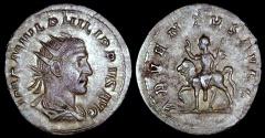 Ancient Coins - Philip I Antoninianus - ADVENTVS AVGG - Rome Mint