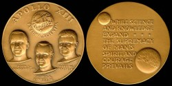 Us Coins - 1970 US: Apollo 13 commemorative medal