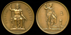 World Coins - 1809  France -  Napoleon - Attack of Anvers and Napoleon Bonaparte at Schoenbruun by Joseph François Domard and Alexis Joseph Depaulis