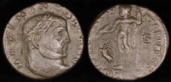 Ancient Coins - Maximinus II Follis - IOVI CONSERVATORI AVGG - Thessalonica Mint