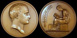 World Coins - 1802 France - Napoleon - Organization of Public Education by Jean-Bertrand Andrieu and Dominique-Vivant Denon