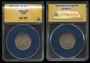 World Coins - 1920 Cuba 20 Centavos ANACS AU55