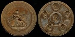 World Coins - 1894 Austria – Tourist Club Commemorative Medal