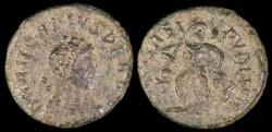 Ancient Coins - Arcadius Ae4 - SALVS REIPVBLICAE - Antioch Mint