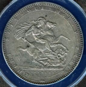 World Coins - 1819 LIX Great Britain Crown ANACS VF30