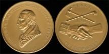 1841 John Tyler - US Mint Medal