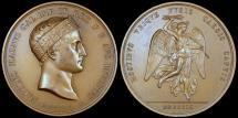 World Coins - 1809 France - Napoleon - Battle of Wagram by Luigi Manfredini