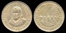 World Coins - 1939 Nicaragua 50 Centavos XF