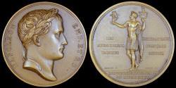 World Coins - 1805 France - Napoleon - Entry of Marshal Ney into Innsbruck by Jean-Bertrand Andrieu, Nicolas Guy Antoine Brenet and Dominique-Vivant Denon