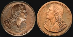World Coins - 1818 France - Jean Rotrou Trial Proof