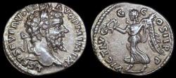 Ancient Coins - Septimius Severus Denarius - VICT AVGG COS II PP - Laodicea Mint