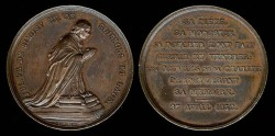 World Coins - 1852 France - Bishop of Soissons