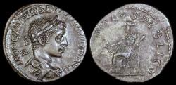Ancient Coins - Severus Alexander  Denarius - SALVS PVBLICA - Rome Mint
