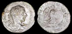 Ancient Coins - Elagabalus  Silvered Denarius - VICTORIA ANTONINI AVG - Rome Mint