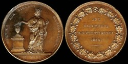 World Coins - 1830 France – The Constitutional Electors