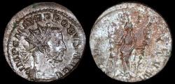 Ancient Coins - Probus Antoninianus - FIDES MILITVM - Lugdunum Mint