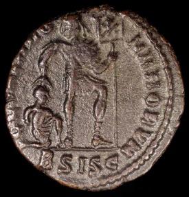 Ancient Coins - Valens Ae3 - GLORIA ROMANORVM - Siscia Mint