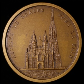 World Coins - 1805 France - Napoleon - Thanksgivings in Vienna by Dominique-Vivant Denon and Jean-Bertrand Andrieu
