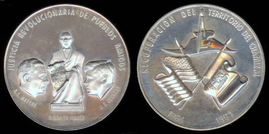US Coins - 1963 John F. Kennedy and A. L. Mateos (Mexican Medal) Silver