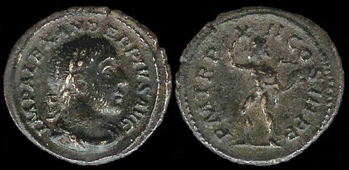 Ancient Coins - Severus Alexander Denarius - P M TRP XII COS III P P - Rome Mint