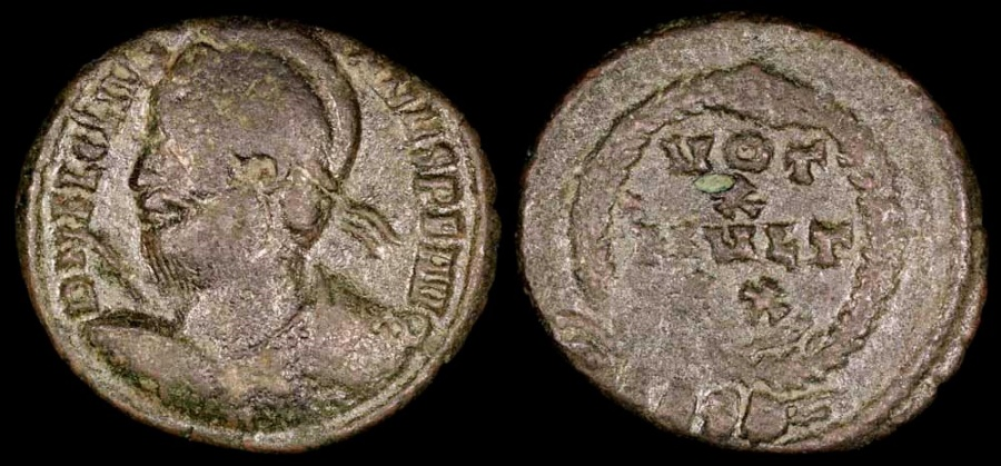 Ancient Coins - Julian II Ae3 - VOT X MVLT XX - Siscia Mint