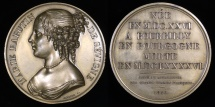 World Coins - 1816 France - Marie de Rabutin-Chantal, marquise de Sévigné - revered in France as one of the great icons of French literature by Raymond Gayrard