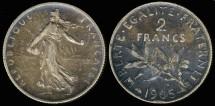 World Coins - 1905 France 2 Franc XF