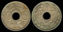 World Coins - 1918 France 10 Centimes AU