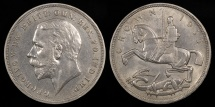 World Coins - 1935 Great Britain 1 Crown - George V - UNC