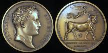 World Coins - 1806 France - Napoleon - The Conquest of Naples by Jean-Bertrand Andrieu, Dominique-Vivant Denon and Nicolas Guy Antoine Brenet