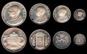 World Coins - 1975 Vatican: Pope Paul VI - Silver Jubilee Set