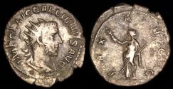 Ancient Coins - Gallienus Antoninianus - PAX AVG - Rome Mint