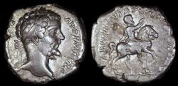Ancient Coins - Septimius Severus Denarius - ADVENTVI AVG FELICISSIMO - Rome Mint